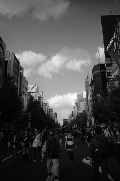 秋葉原の歩行者天国