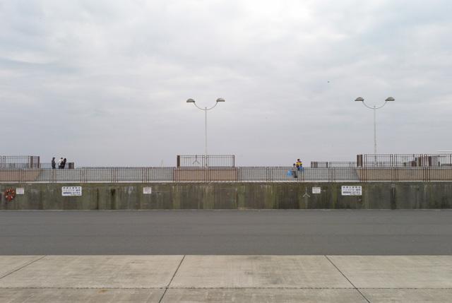 江ノ島の堤防