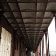 赤レンガ倉庫の屋根