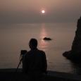 三浦半島西海岸の夕日・その2