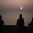 三浦半島西海岸の夕日・その3