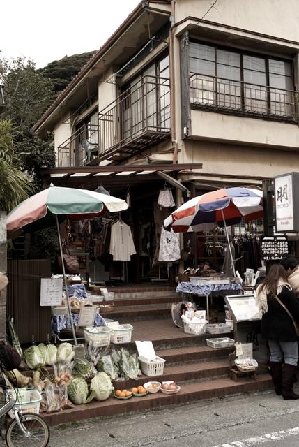 鎌倉の商店