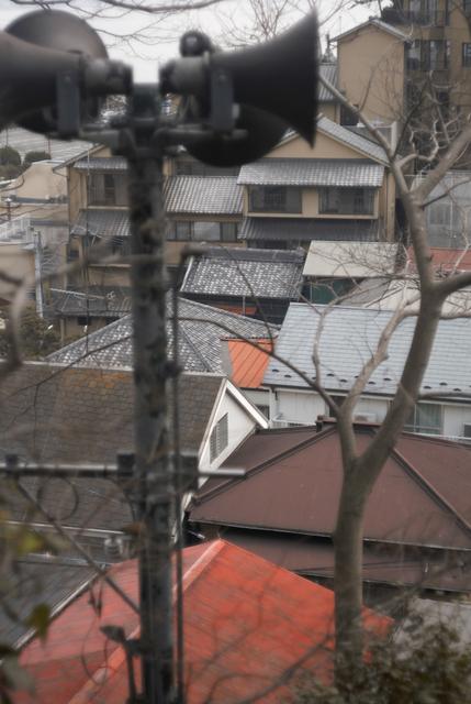 屋根の連なり