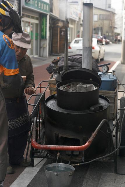 焼き芋屋台
