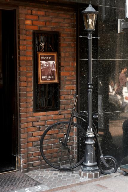 自転車の風景