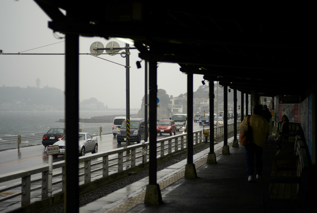 海辺の雨・その1