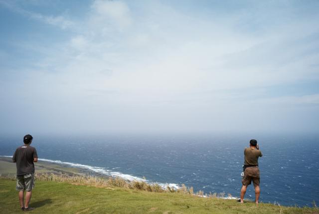 海の見える展望台