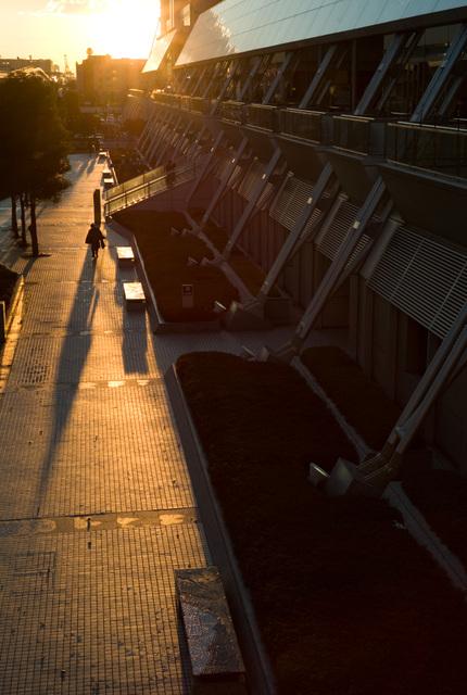 有明の夕日・その1