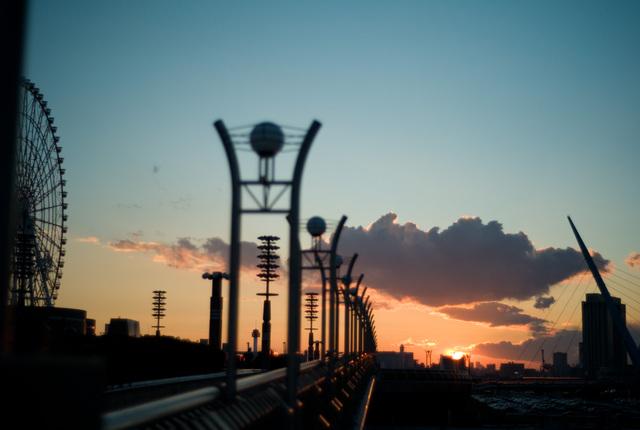 有明の夕日・その5