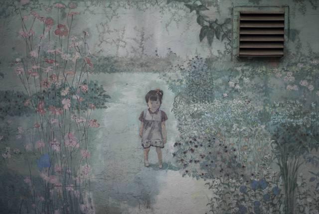 壁画・開放