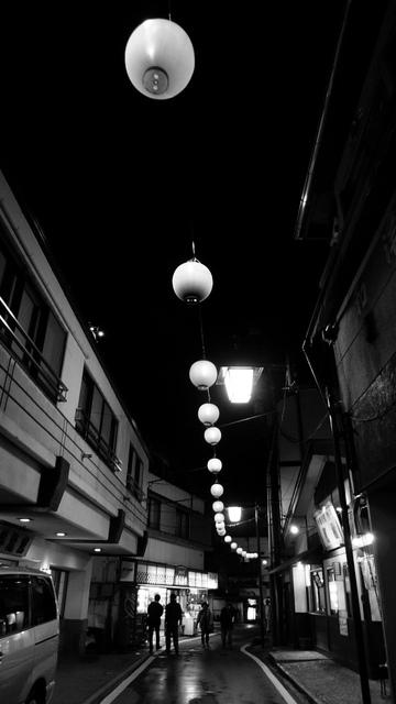 夜空の提灯