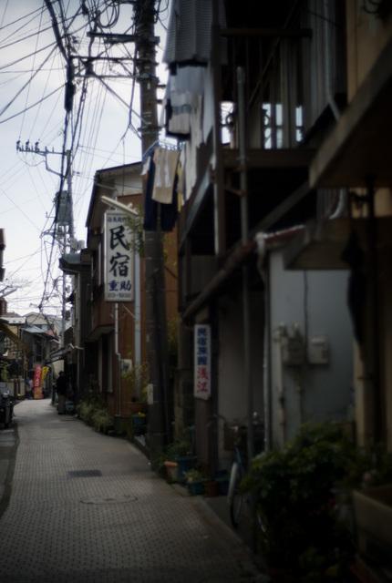 江ノ島の町並み