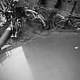 自転車の置き方(悪い例)