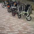 小径自転車群