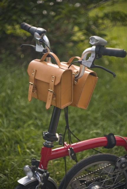 サドルバッグの使い方(悪い例)
