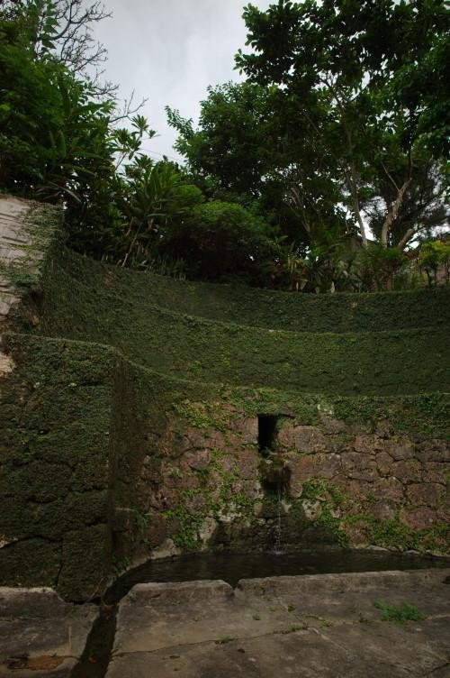 水の湧き出る場所