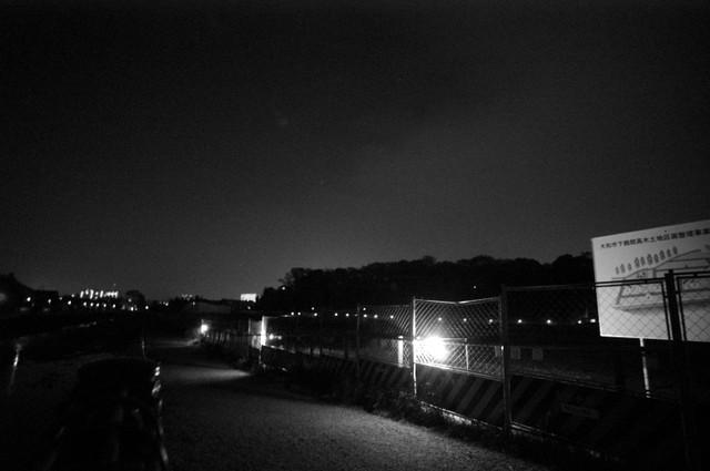 工事現場の灯り・その4