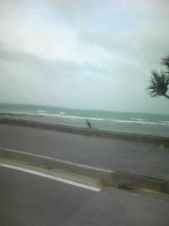 台風の影響